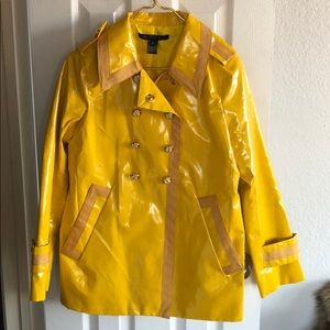 Marc By Marc Jacobs Yellow Raincoat, size M